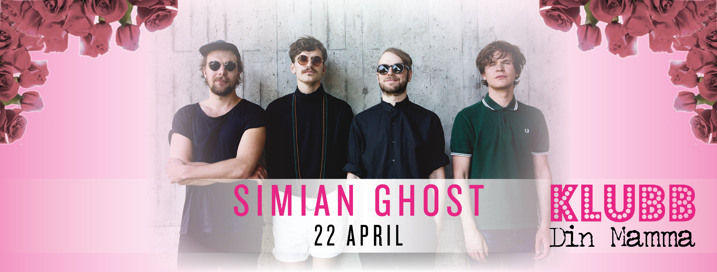 Simian Ghost - 22 april